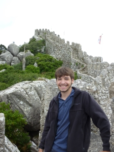 My author picture taken at the Castle of the Moors in Portugal